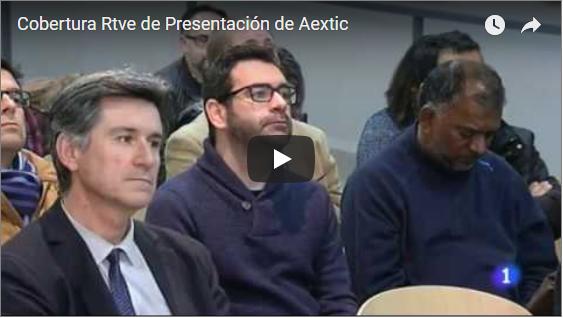 Reportaje de TVE sobre la presentación de AEXTIC