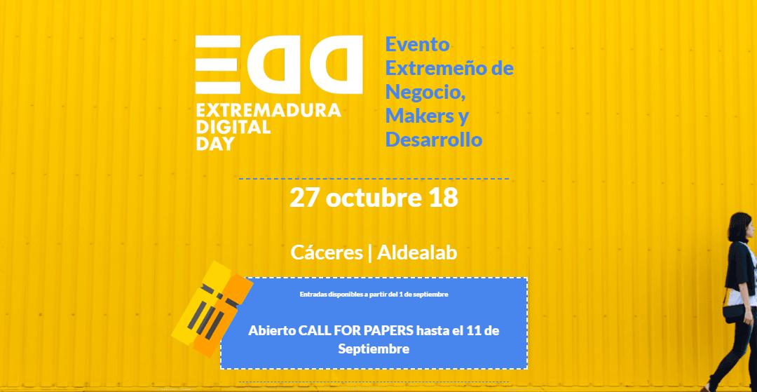 Extremadura Digital Day #EDD18