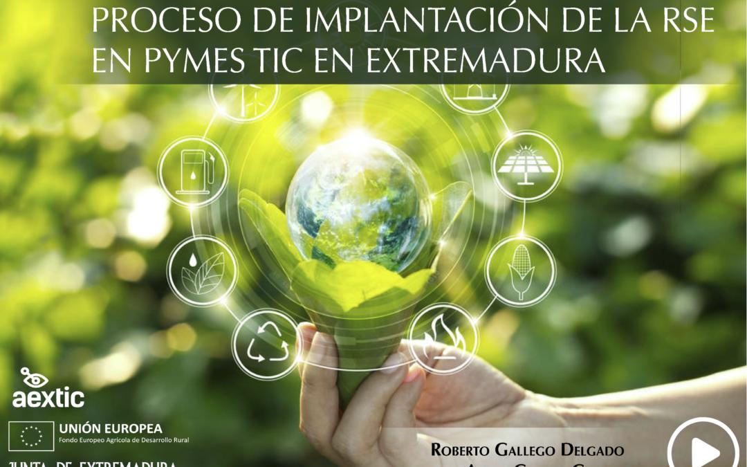 PROCESO DE IMPLANTACIÓN DE LA RSE EN PYMES TIC EN EXTREMADURA